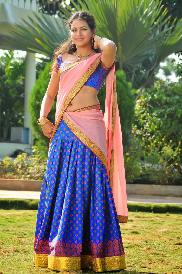 bollywood actress saree collections gouthami chowdary in