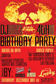 DJ Leonard Smalls B-Day Party