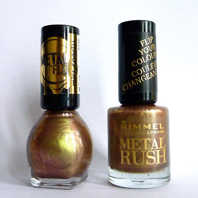 Miss Sporty 010 Beetle Wings - Rimmel Gold Save The Queen