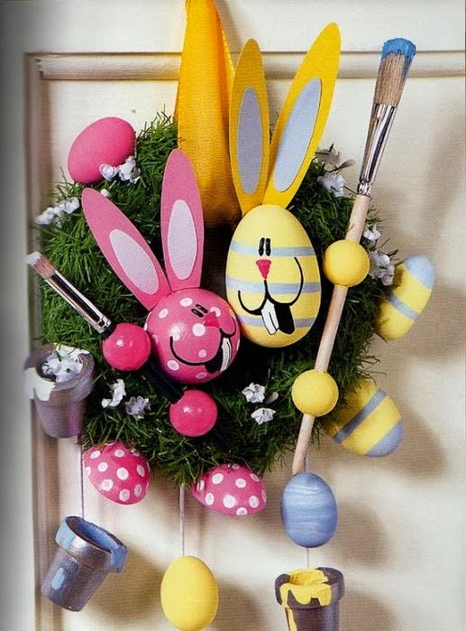 Пасхальные поделки ( шаблоны и схемы). Easter DIY step-by-step tutorial.