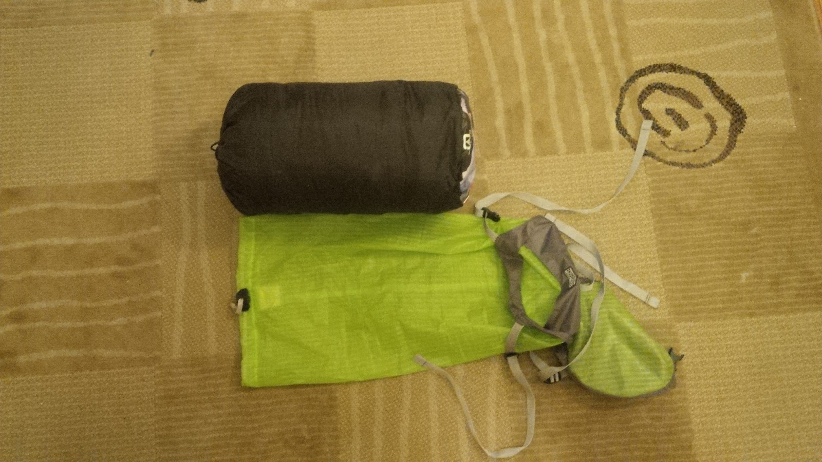 Uncompressed Sleeping Bag