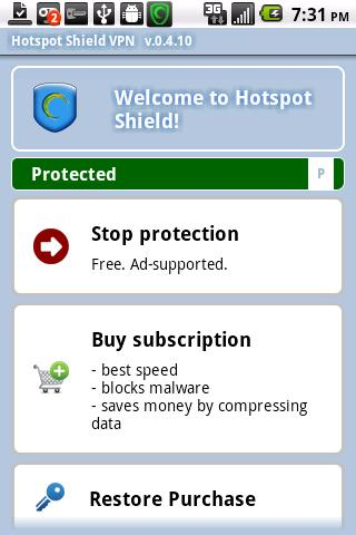 hotspot shield for android full version apk