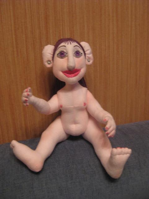 текстильная кукла Тролль