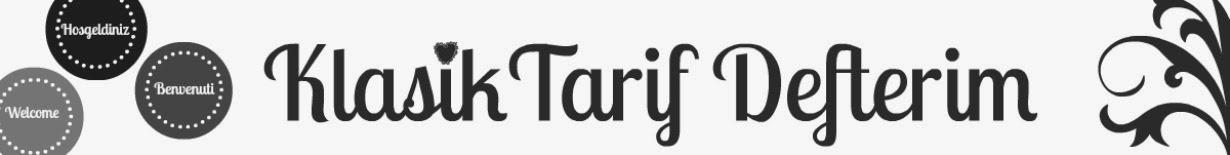 Klasik Tarif Defterim
