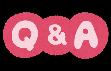 「Q&A」のイラスト文字