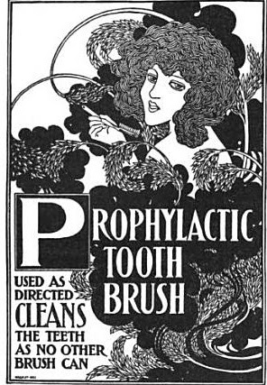 Prophylactic brush Ad, melmac central