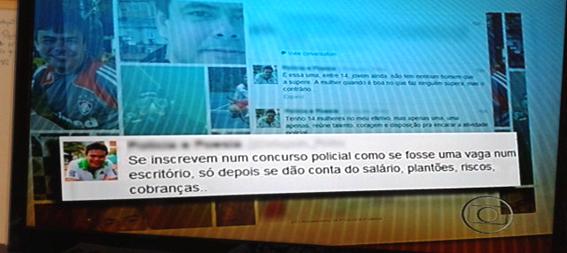 delegado critica mulheres policiais twitter