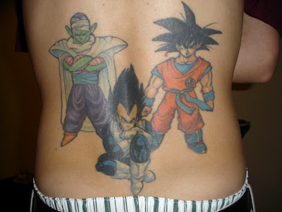 Tatuaje de Dragon Ball Z