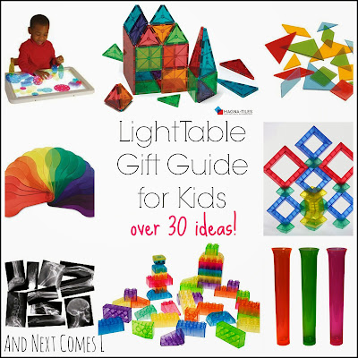 Light Table Gift Guide For Kids And Next Comes L