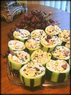 Cucumber Cups!