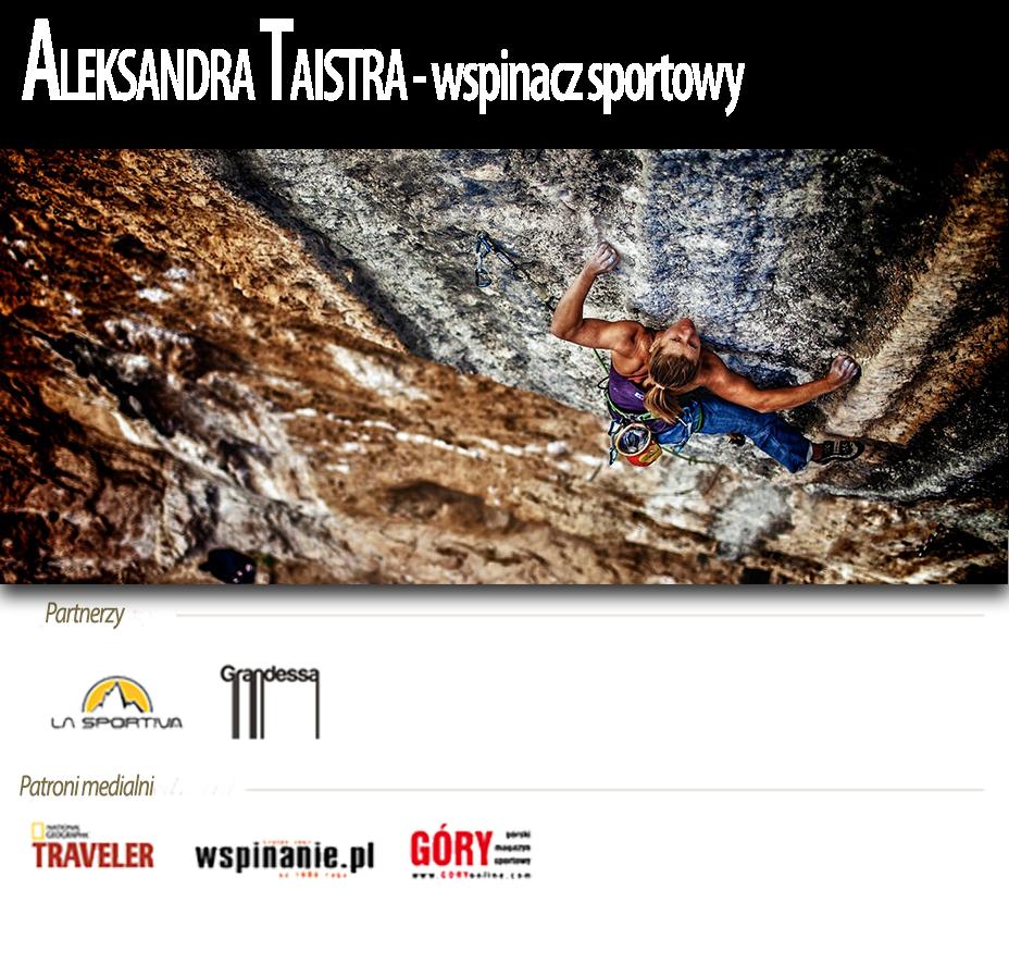 Aleksandra Taistra- wspinacz sportowy