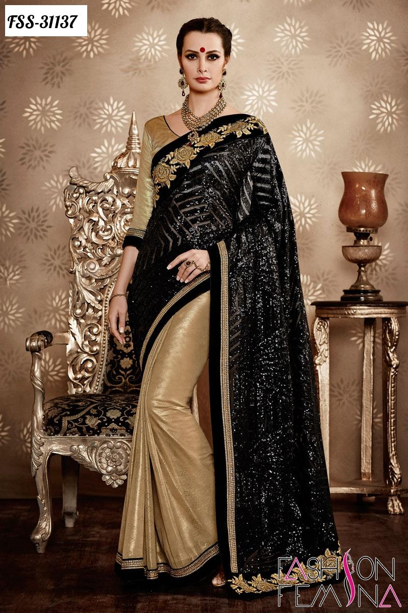 Wedding Designer Heavy Sarees 2016 Online Collection In India