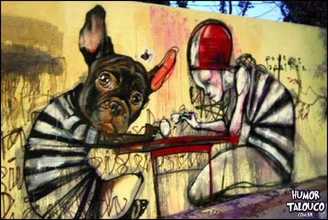 Grafite nas ruas