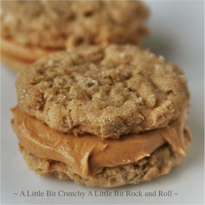 ... Little Bit Rock and Roll: Peanut Butter Oatmeal Sandwich Cookies