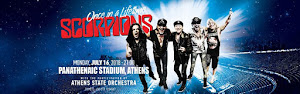 "SCORPIONS - ""ONCE IN A LIFETIME"""