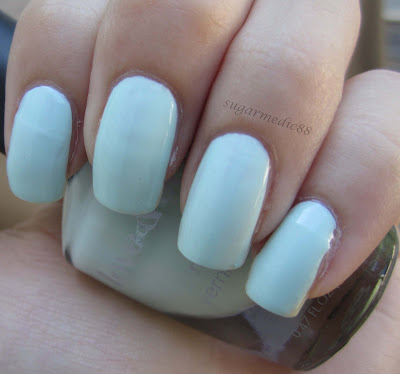 Forever 21 Love & Beauty Mint Swatch