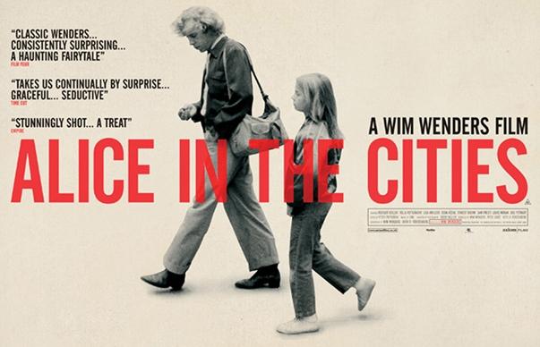 Alice in the Cities poster Alice in den Städten