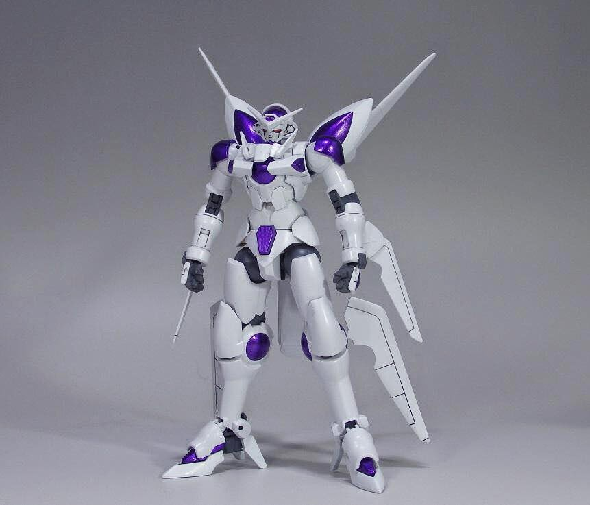 Gundam guy hgbf 1 144 portent gundam 39 frieza 39 colors for Portent of passage 6