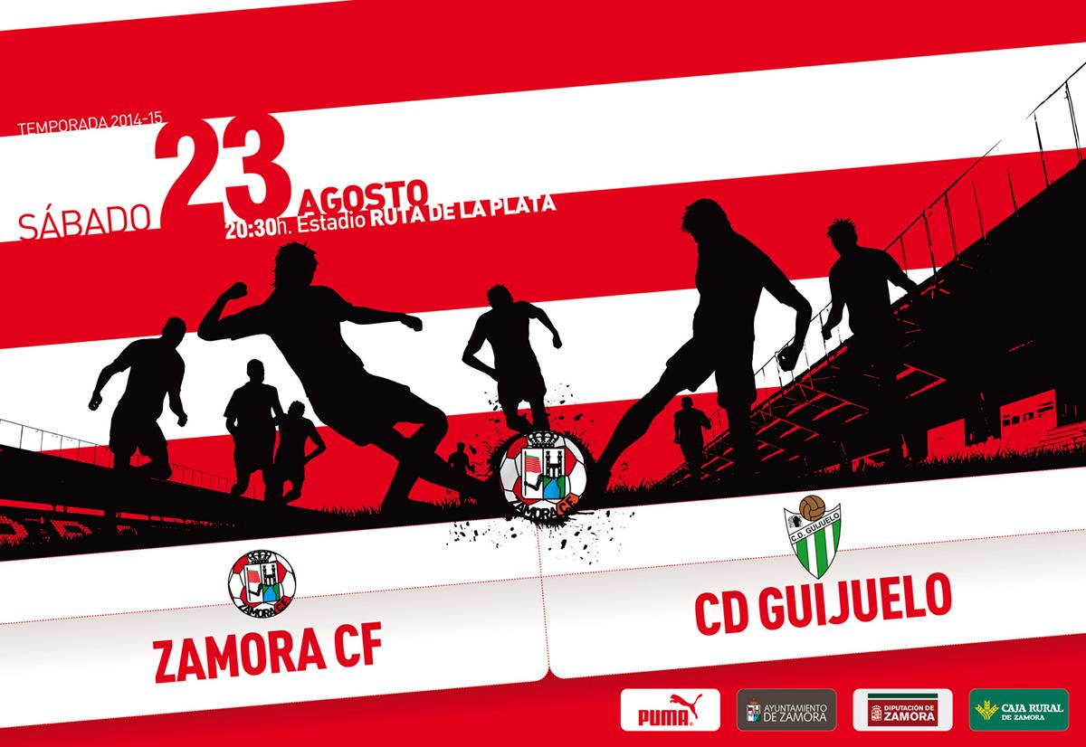 ZCF cartel partidos temporada 2014-15