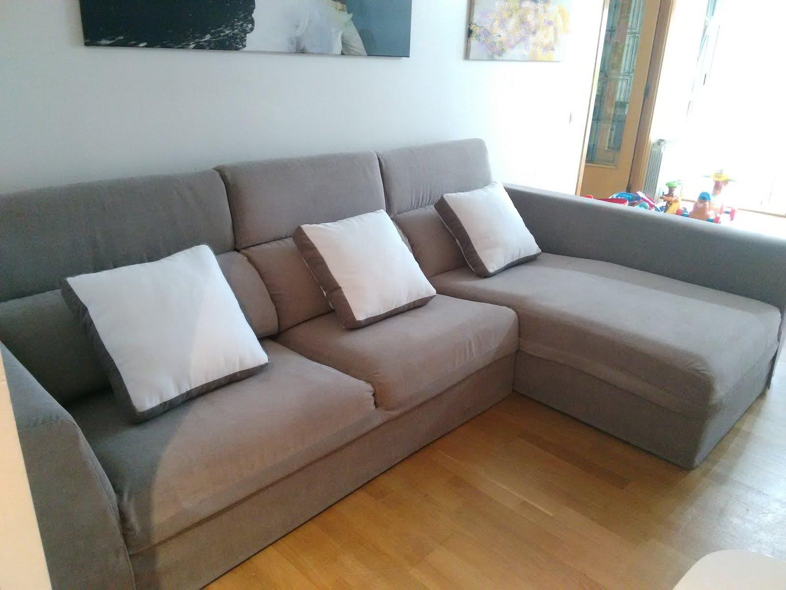 Fundas de sof a la carta la soluci n perfecta a un sof - Cojines para sofas de piel ...