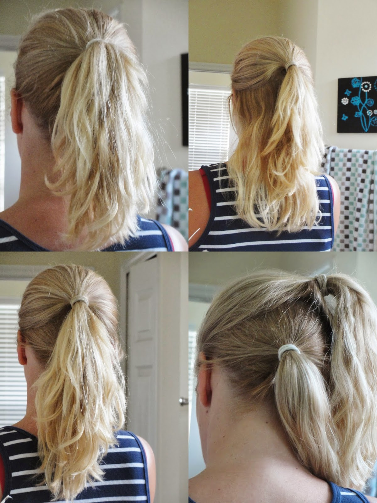 Ponytail ideas: how to make it appear longer?