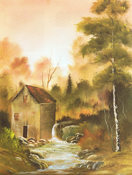 bob ross schilderijen
