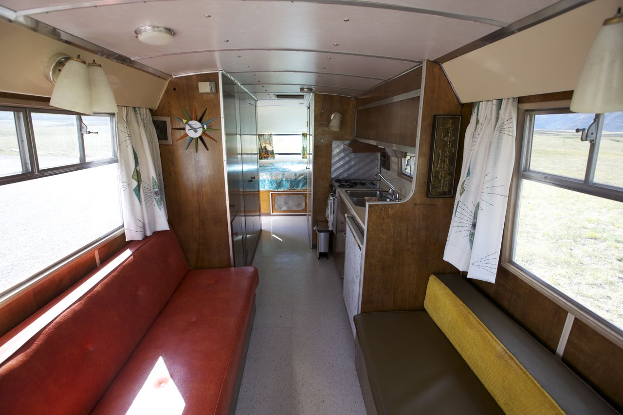 Myrtle The 1964 Travco Motorhome More Interior Shots