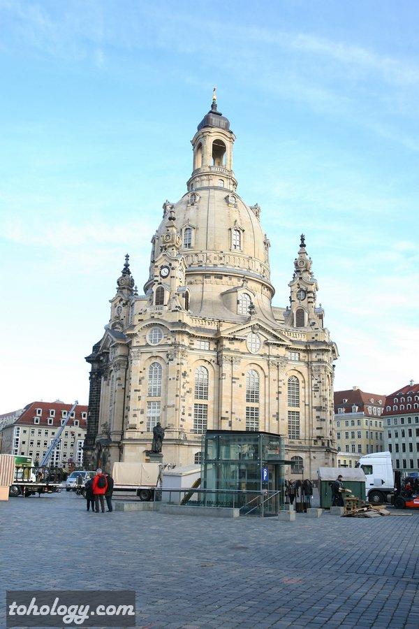 Frauenkirche Dresden // Фрауэнкирхе в Дрездене