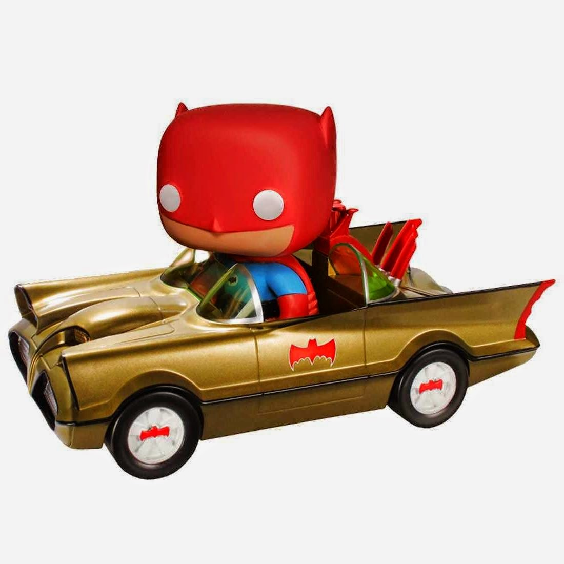 01.- Batmovil Dorado Funko Pop!
