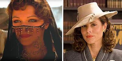 Evelyn en La Momia, Rachel Weisz, María Bello, cambios de actores