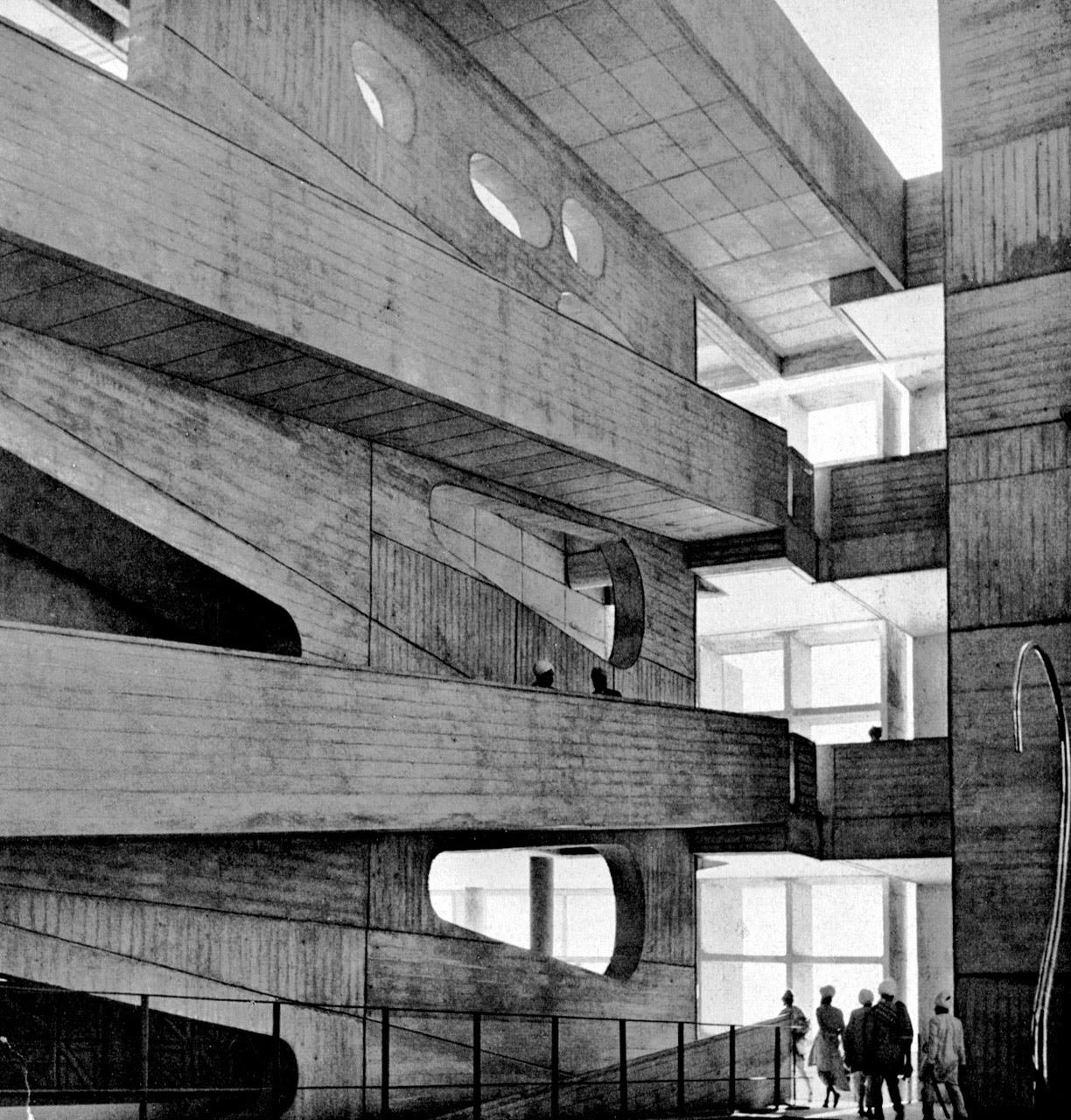 Le+corbusier,+palacio+de+justicia+de+chandigarh+india,+1951-56.+imagen+flc