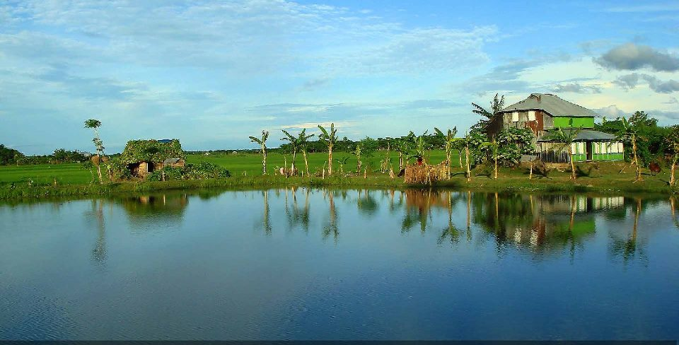Bangladesh tours and destinations beautiful village for Beautiful house in bangladesh