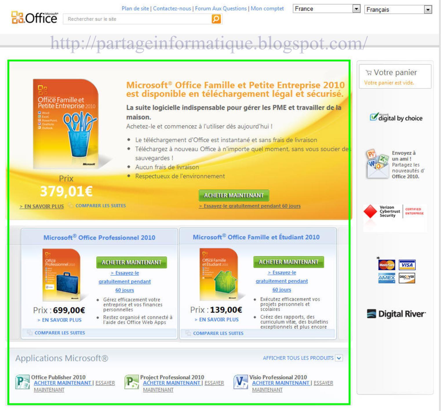 Télécharger Microsoft Office 2013 gratuit
