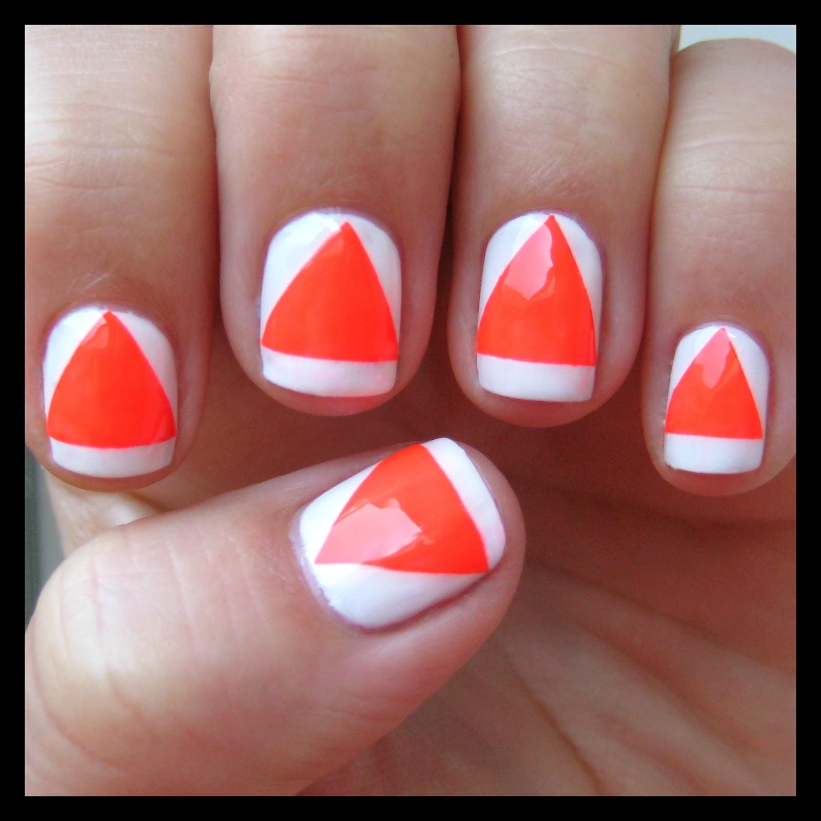 Dahlia Nails: Nail Art Feb: Simple