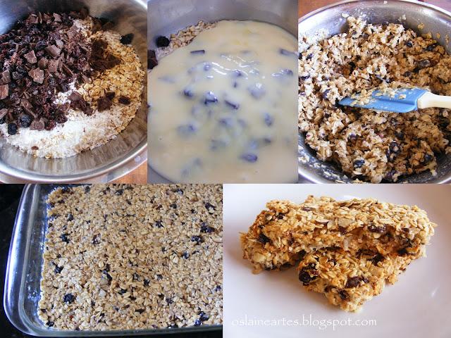 Barrinhas de granola