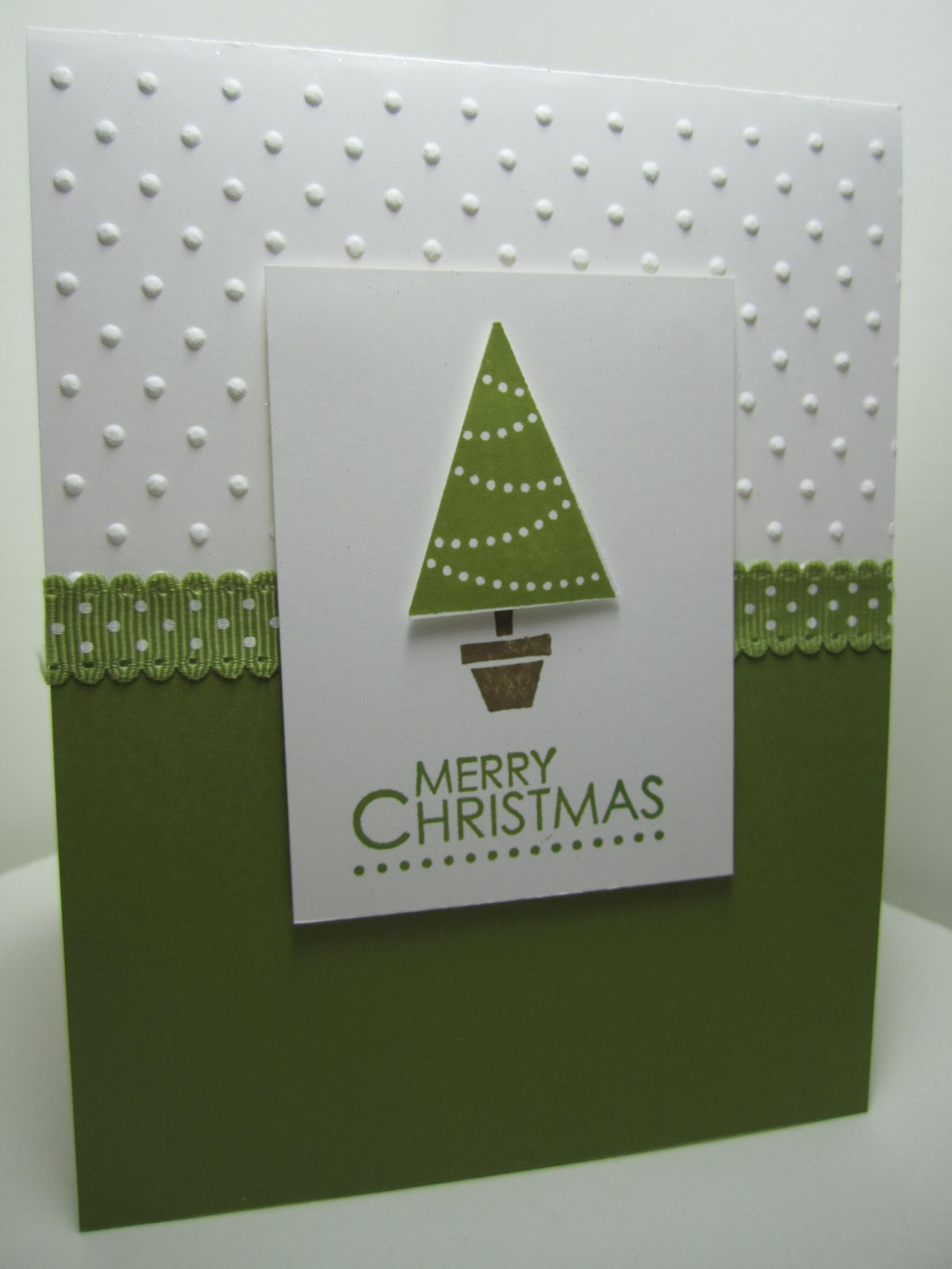 goin 39 over the edge quick and easy christmas card with