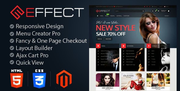 download Effect Fashion - Responsive Magento Themes