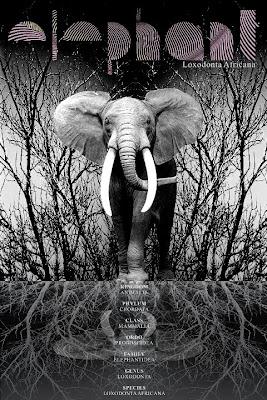 Elefánt a poszteren
