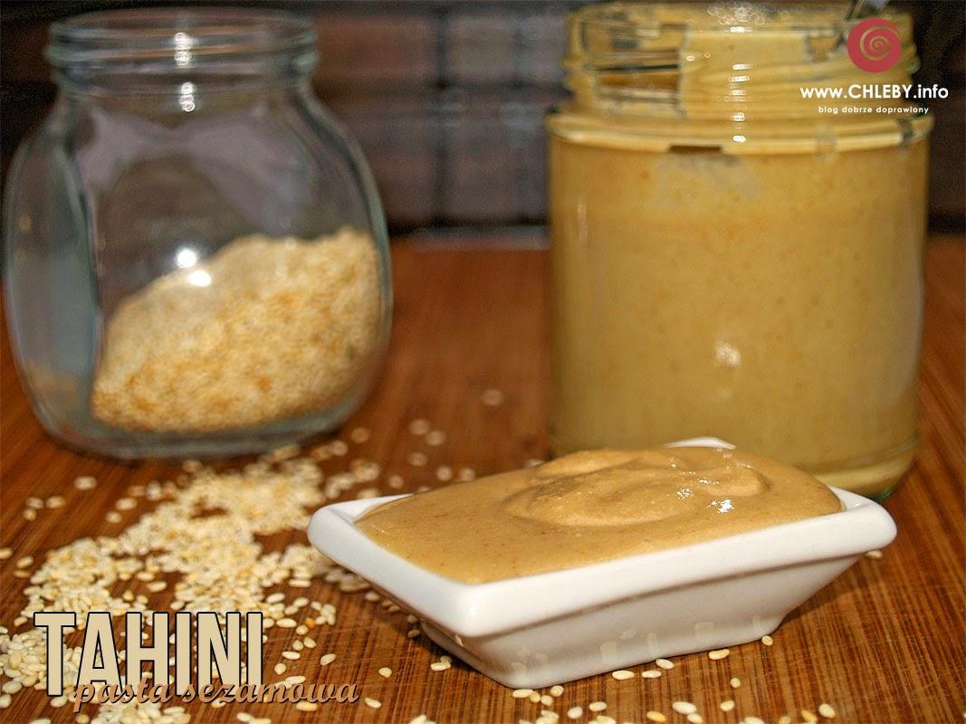 Tahini - pasta sezamowa