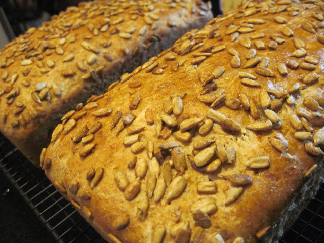 Sunflower Whole Wheat Bread Recipe