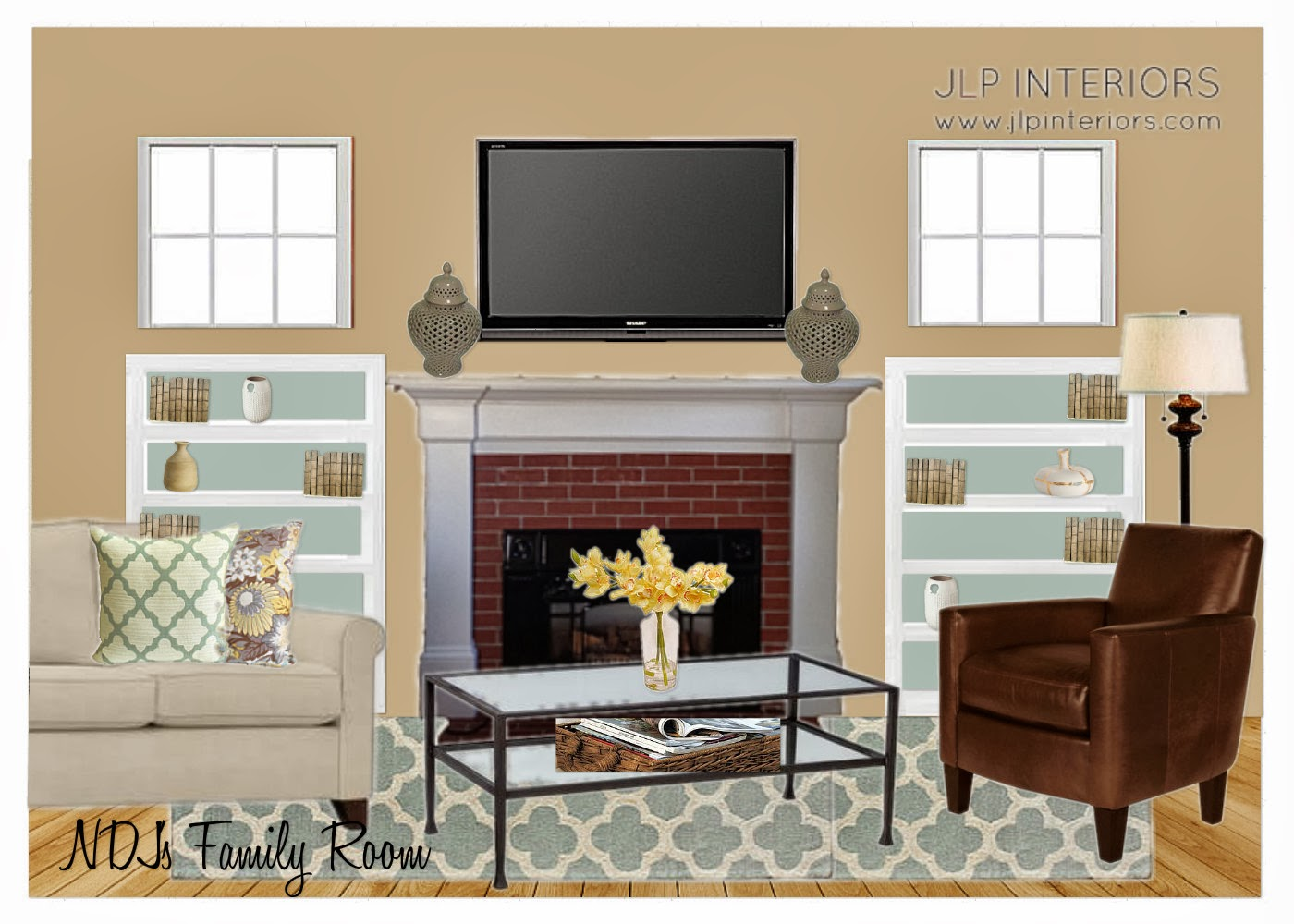 Home with baxter mood boards for Living room elevation