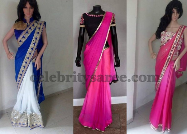 Simple Yet Trendy Saris by Srihita