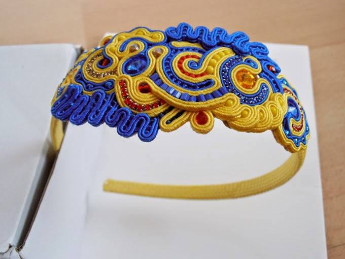 COLORFUL HAIRBAND SOUTACHE