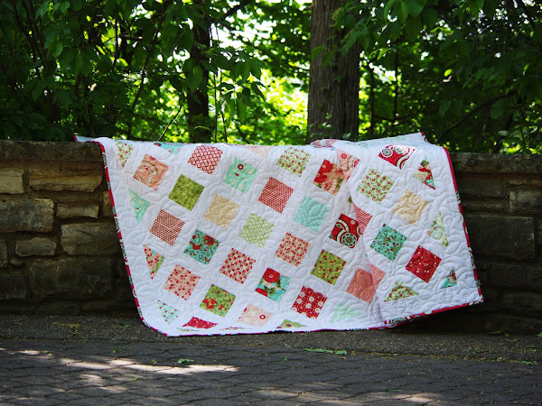 Kaeli's Bliss Lattice Quilt