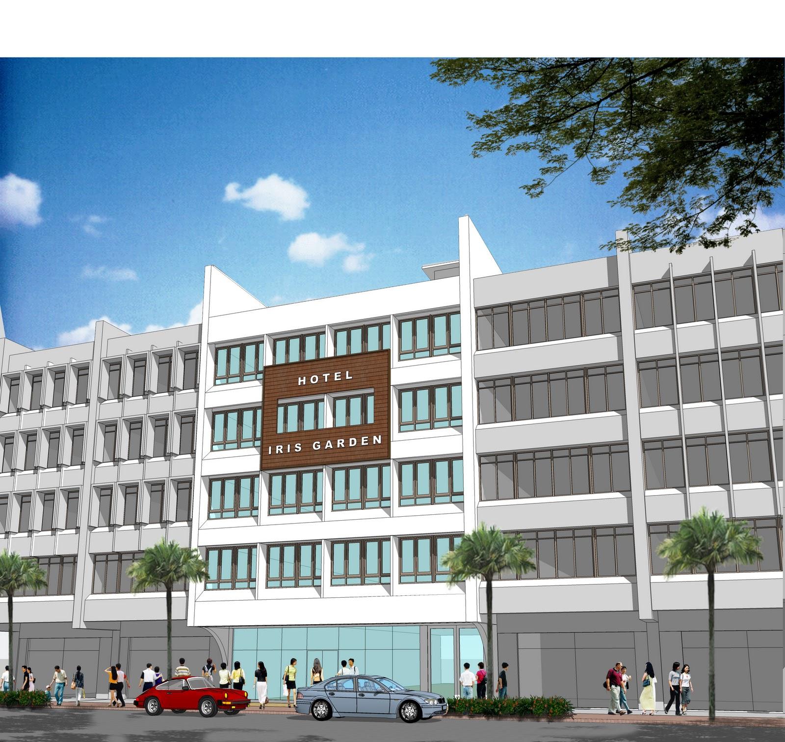 Duo edge architecture design studio budget hotel at jalan for Design hotel bintang 3