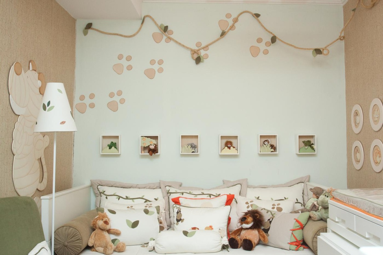 Casada e Apaixonada Quarto de Beb u00ea Safari -> Decoração Para Quarto De Bebe Masculino Safari