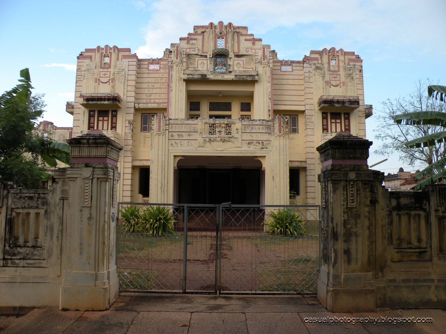 Kanadukathan India  city images : This building is just opposite to the
