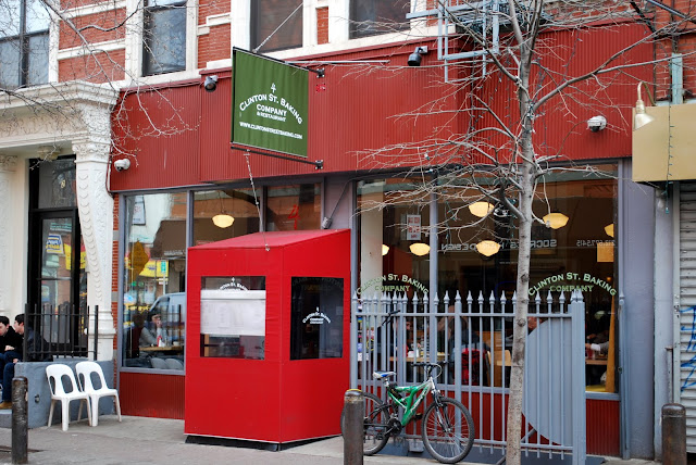 Mille Fiori Favoriti: Clinton Street Baking Company and Restaurant