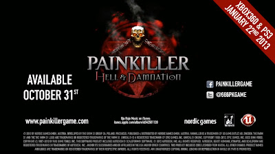 Painkiller: Hell and Damnation Logo - We Know Gamers