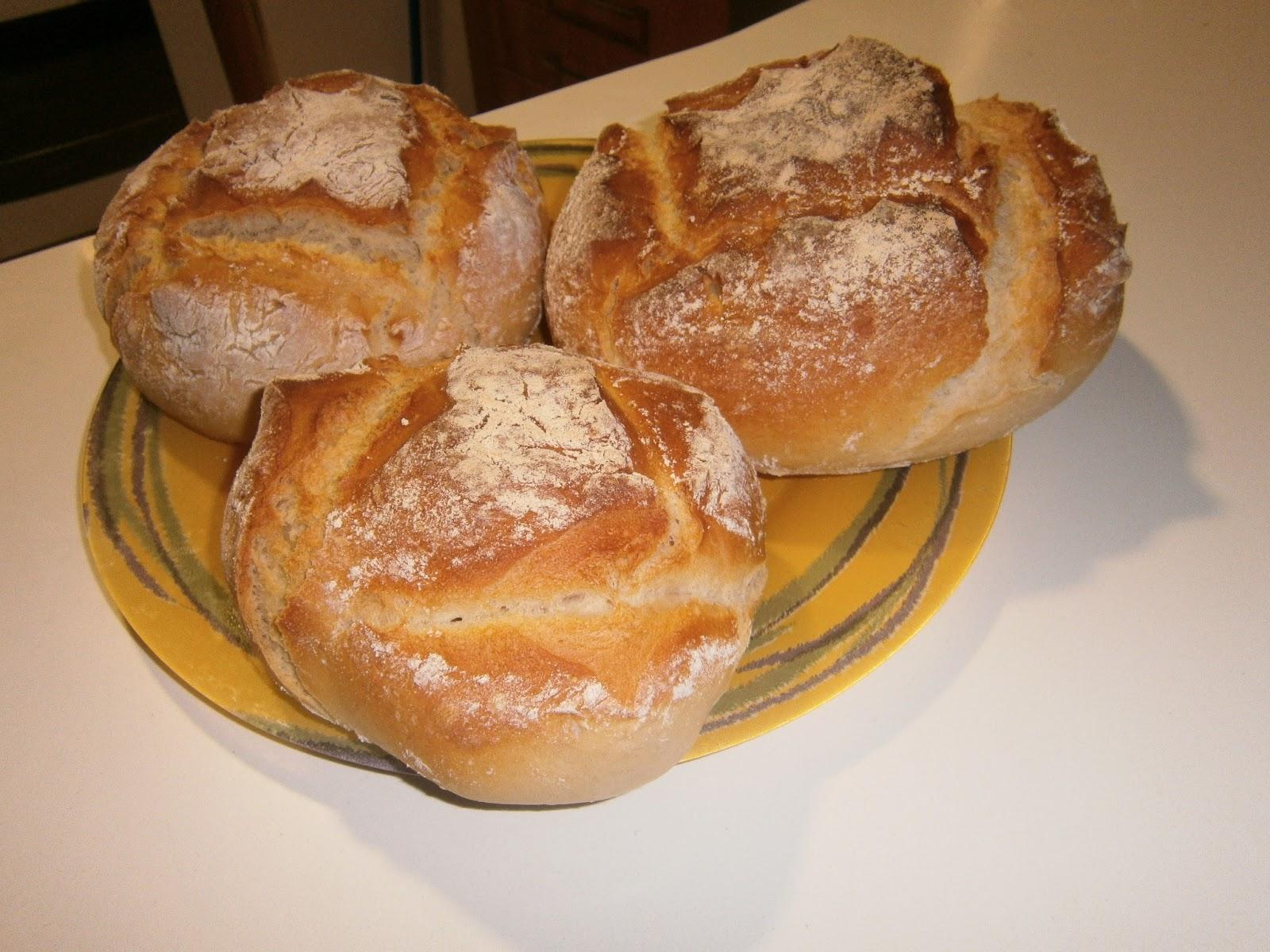 receta pan tradicional
